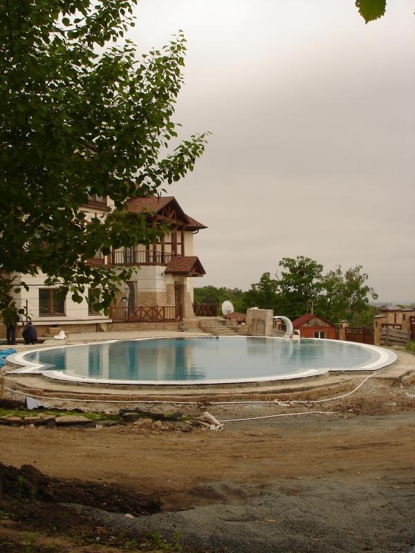 Строительство уличных бассейнов